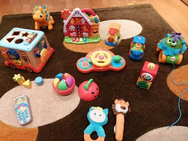 Conjunto de brinquedos dos 0 aos 36 meses