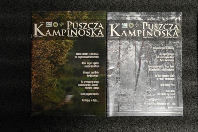 Puszcza Kampinoska 2016 nr 1-4