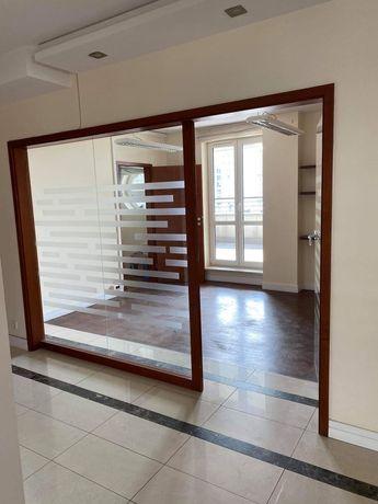 Witryny, szkło hartowane, ramy drewniane, ściana ze szkła OKAZJA!