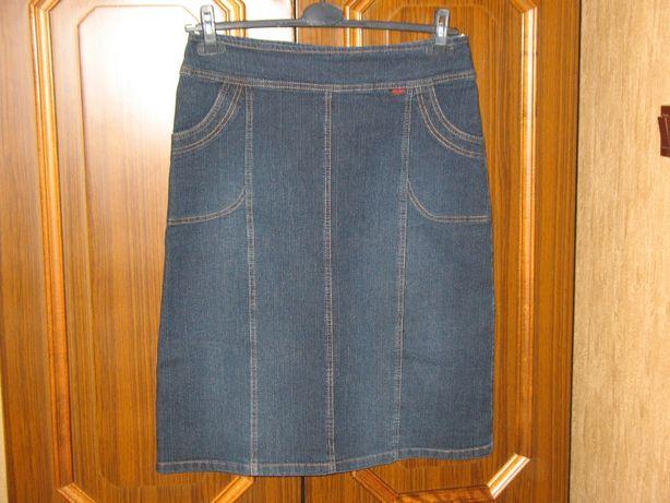 Mikel - jeansowa spódniczka ciemny jeans profilowana 40/42!!!