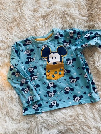 Koszulka piżamka miki 92
