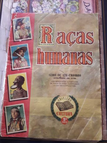 Caderneta de Cromos da Raça Humana com mais de 100 anos. Coleção.90€