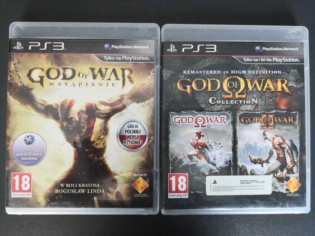 God of War Collection I II Wstąpienie Ps3
