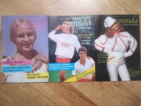 """Vendo revistas anos 80 """"miúda""""- COMO NOVAS"""