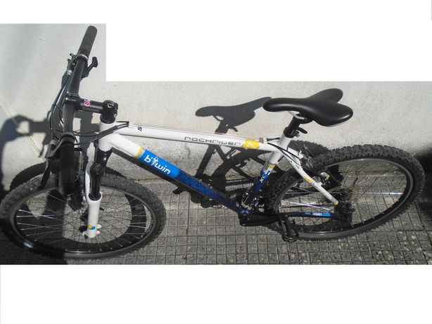 Bicicleta BTT, RockRider B'TWIN XC5,Tamanho M,Roda 26,1 dono,impecável