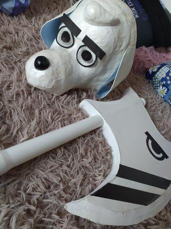 Undertale Dogamy cosplay maska i topór