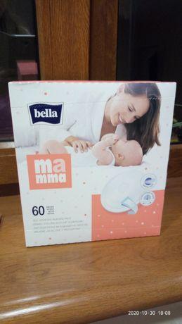 Лактационные вкладыши прокладки для груди Bella60 + Bella24 в подарок