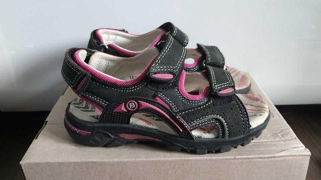 Sandały BARTEK T-16108/J90 czarno-różowe, rozmiar 28
