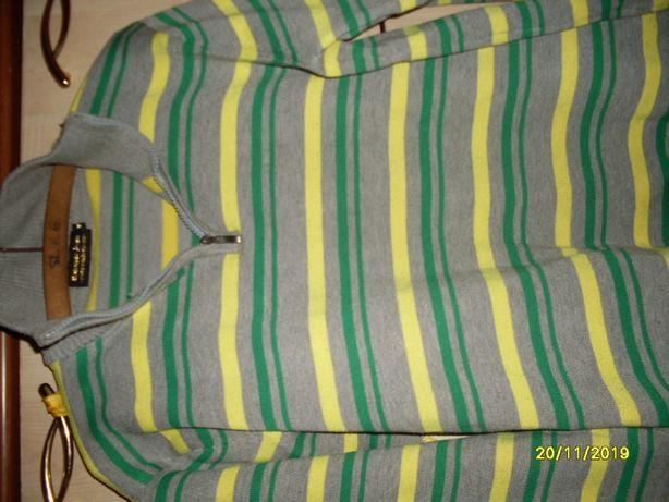 sweter bluza w paski polo