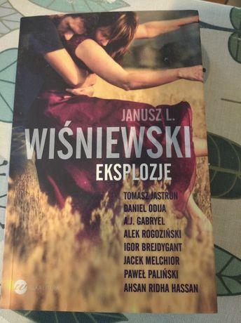 Książka Janusz L. Wiśniewski Eksplozje