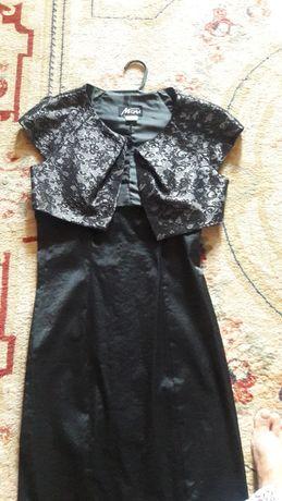 Платье и болеро р.44