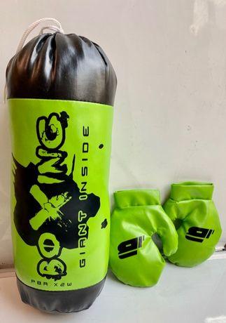 Boks zestaw bokserski rękawice +worek NOWY