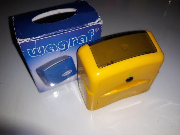 Automat pieczątki firmy Wagraf model PIAST 3 PIECZĄTKA kolor żółty