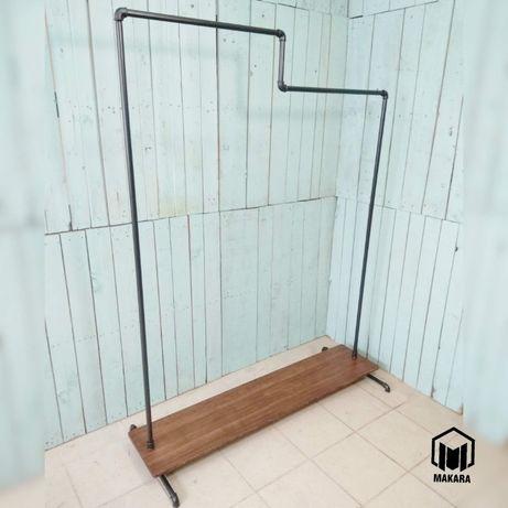 №25 Вешалка loft мебель лофт стойка торговая напольная из труб