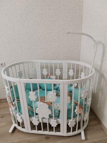 Кроватка IngVart 9в1