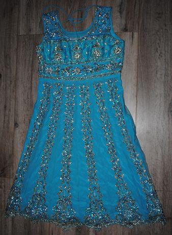 Шикарное платье на бал, свадьбу на девочку 10- 16 л (замеры на фото)
