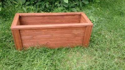 donica drewniana 100x40x40 WYPRZEDAŻ