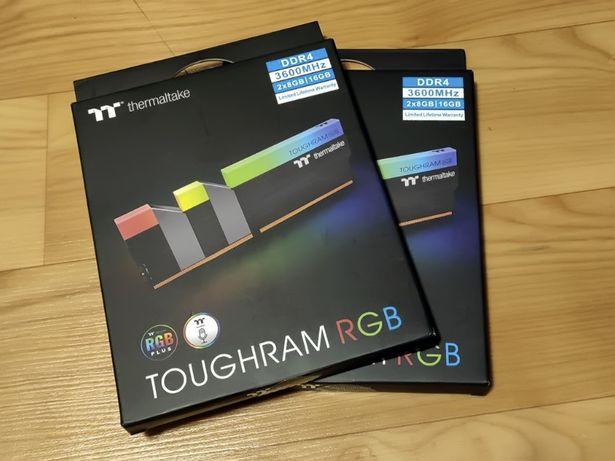 Оперативка Thermaltake 16 GB (2x8GB) DDR4 3600 MHz TOUGHRAM RGB