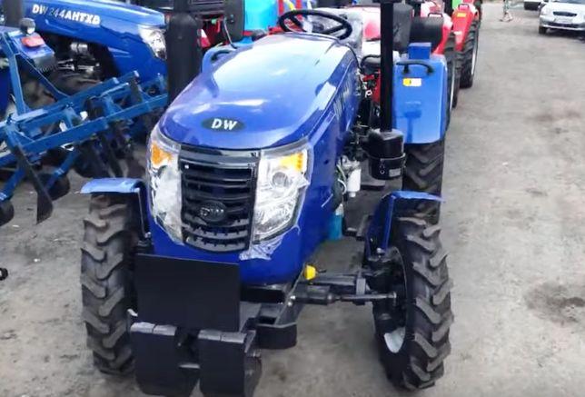 Мінітрактор DW 244 АНТ з гідропідсилювачем +ЗІП, трактор ДВ 244