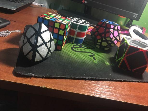 Набор головоломок 5х5, мегаминкс, скюб, 3х3 в виде бочки