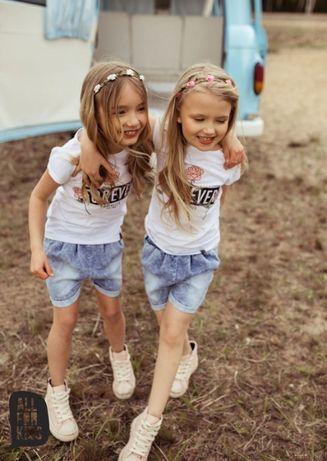 All for Kids T-shirt biały forever