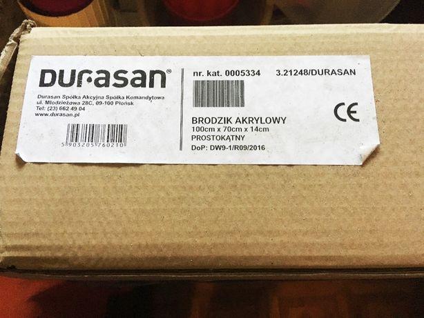 Sprzedam nowy brodzik akrylowy - DURASAN