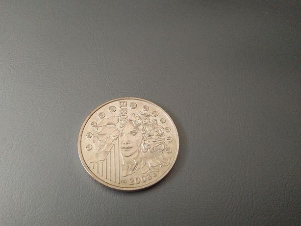 Moneta 0.25 Euro 2003 Francja seria Europa srebro-opcja wysyłki