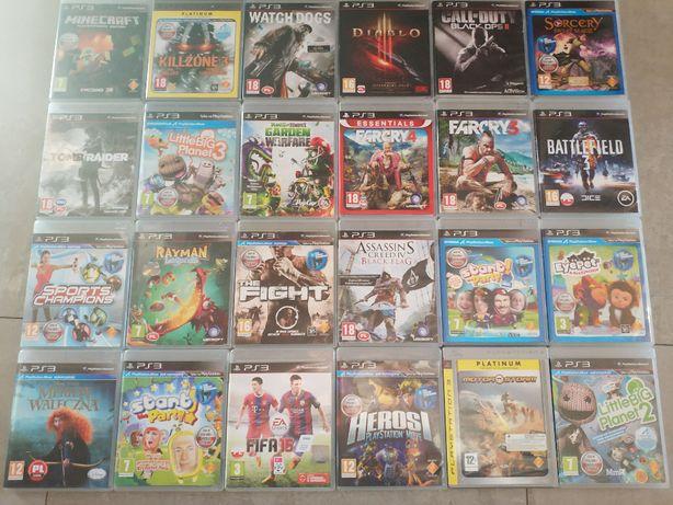 Gry na Playstation 3.