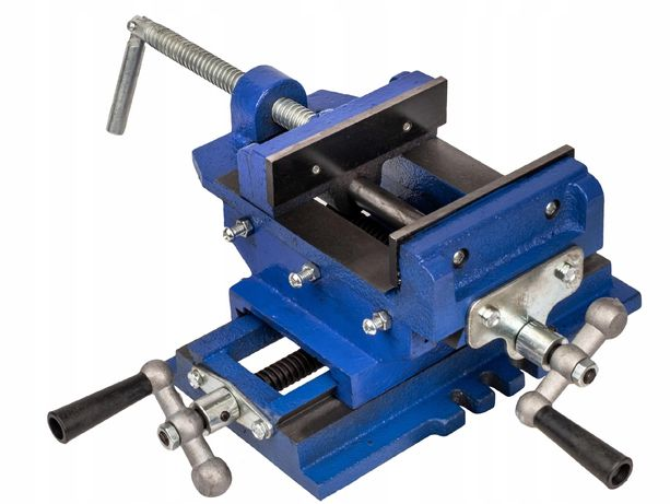 Imadło maszynowe krzyżowe dwuosiowe 125mm tokarka (IMA4)