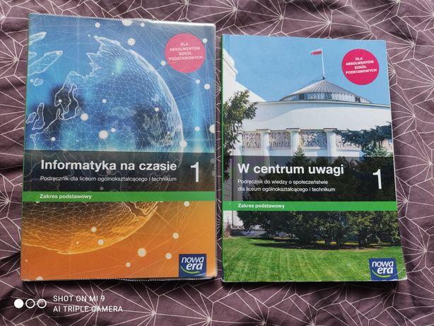 Podręczniki do Liceum i Technikum informatyka, wos