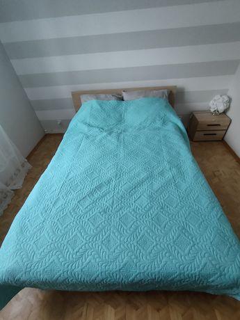 Łóżko z materacem 140 x 200 cm