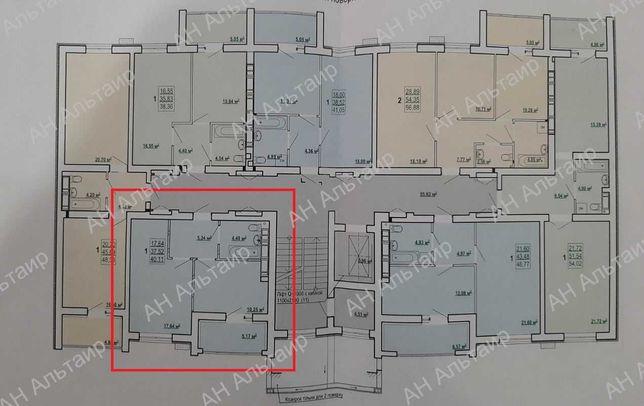 Новострой ЖК СКАЗКА Продам 1 комн квартиру 40,11м2 Холодная Гора  G