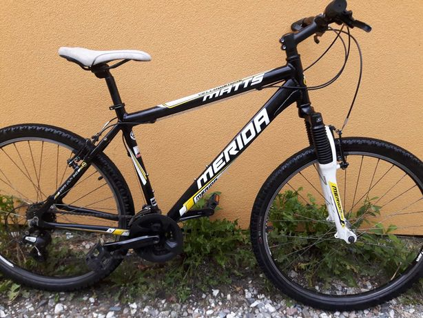 rower górski 26 cali aluminiowy  Merida, osprzęt shimano,po serwisie
