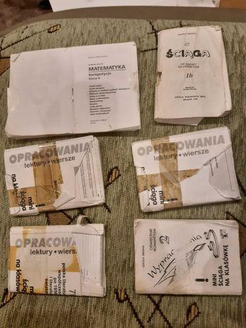 Oddam opracowania lektur i wierszy tzw Ściągi , materiały do Polskiego