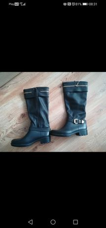Buty kozaki czarne 38