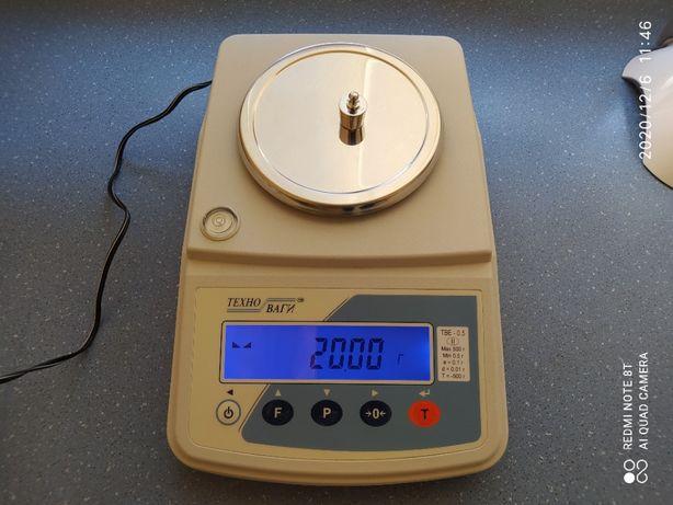 Лабораторные электронные весы Техноваги ТВЕ-0,5-0,01