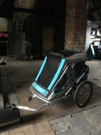 Przyczepka rowerowa Qeridoo Speedkid 2 Dwuosobowa