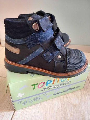Topitop ботинки детские ортопедические ортопедичні