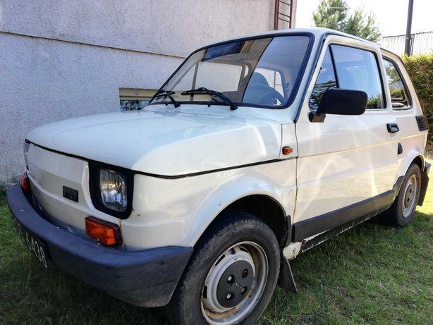 Fiat 126p biały pierwszy właściciel wszystkie dokumenty i faktury