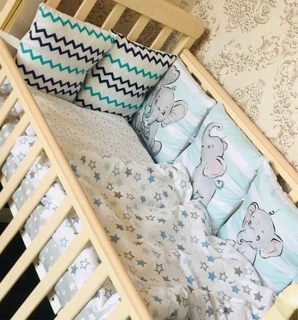 Бортики в кроватку.В наличии.