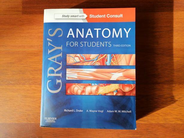 Livro para estudantes de anatomia em Inglês