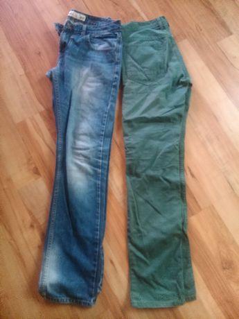 spodnie meskie 2 sztuki