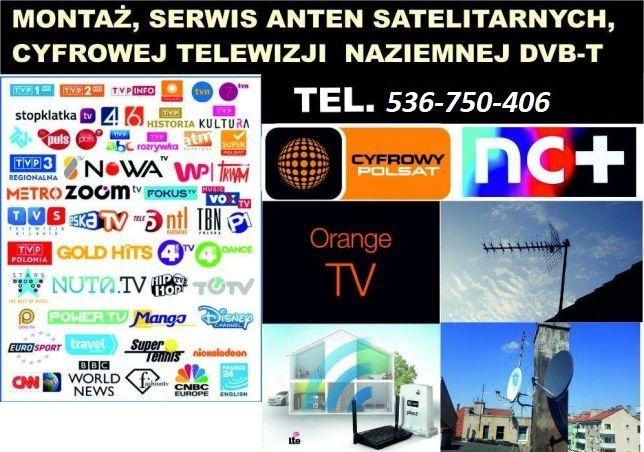 ANTENA Satelitarna 80 Corab Ustawianie i montaz AntenSAT DVB-T BIŁGORA