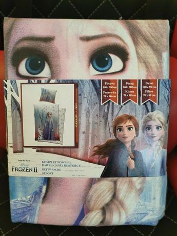 Komplet pościeli Frozen II 160x200 , poszewka 70x80cm