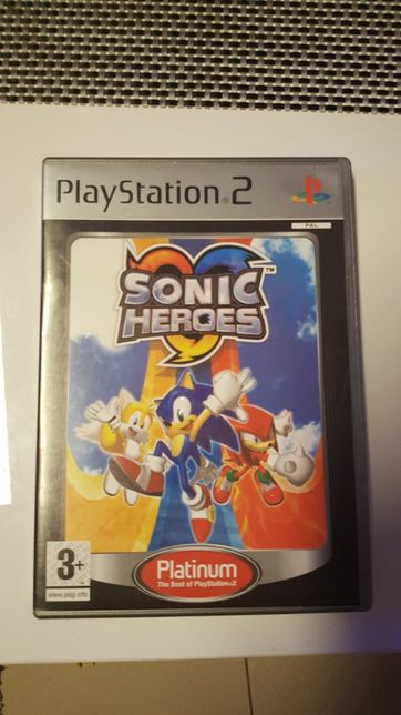 Sonic Heroes Playstation2 Ps2