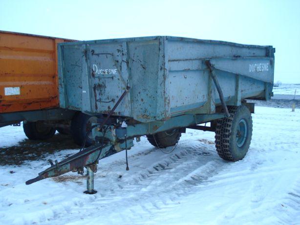 przyczepa wywrotka 8 ton duchesne sprowadzona 1995 rok