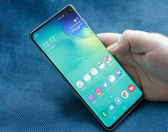 Смартфон Samsung Galaxy S10 Plus телефон Самсунг+ Чехол