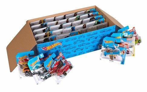 Коробка базовых моделей hot wheels