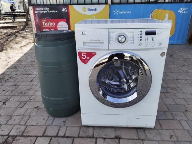Стиральная машина LG с баком для воды 5 кг загрузка