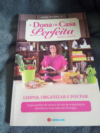 A Dona de Casa Perfeita de Mónica Duarte - livro NOVO